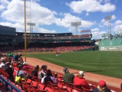 Fenway Park, April 2014