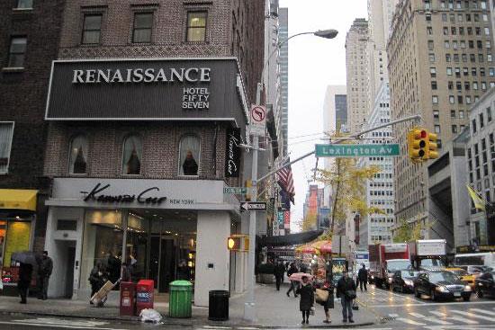 Renaissance New York Hotel 57. Photo from TripAdvisor.