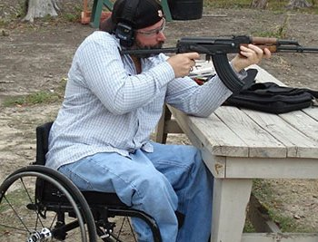 Tips for exercising your 2nd Amendment gun rights in a wheelchair