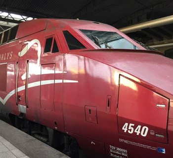 Thalys Brussels Paris Train