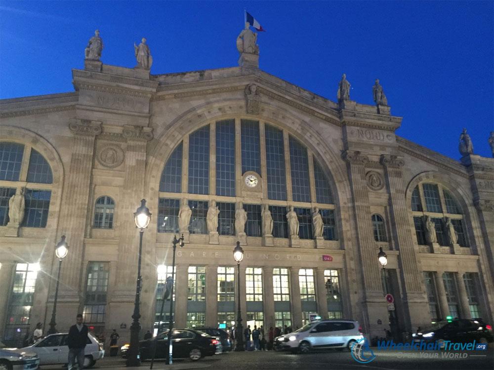 Gare du Nord Paris Train Station