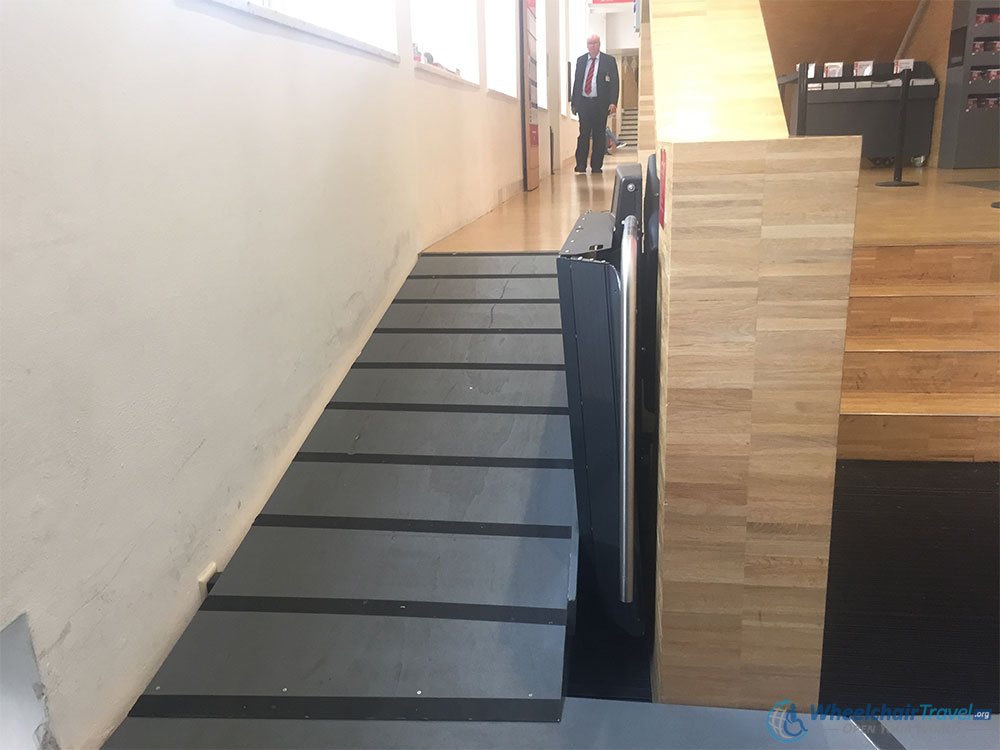 Amsterdam Museum Wheelchair Accessible Entrance Ramp