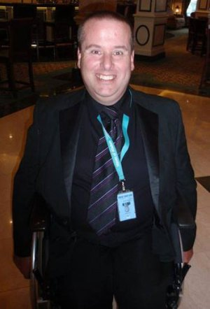 Doug Smith Onboard Ship at a Formal Dinner