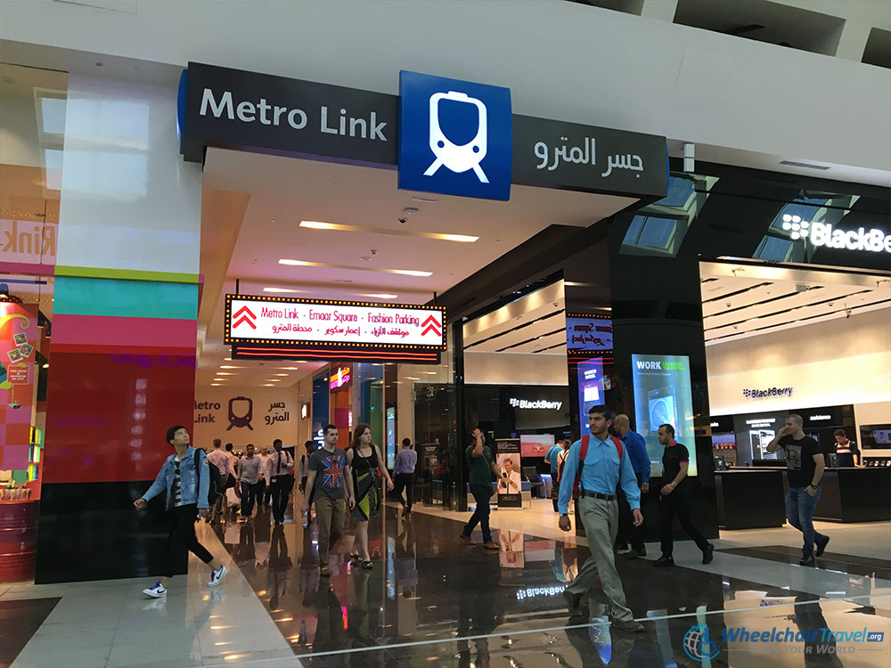 Burj Khalifa Location and Transportation - Dubai Mall Metro