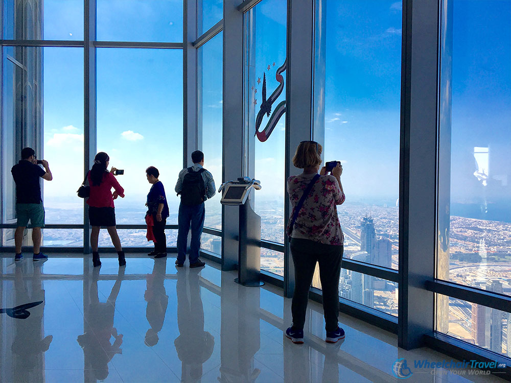 Burj Khalifa Indoor Observation Area