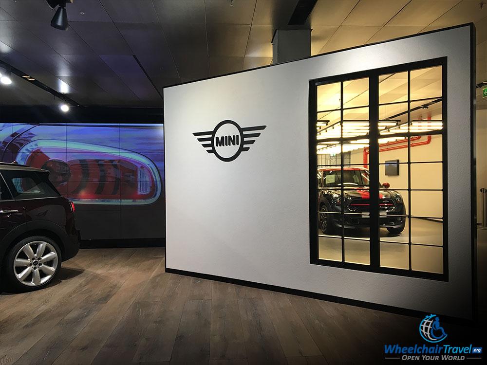 BMW Welt Mini Cooper Display Gallery