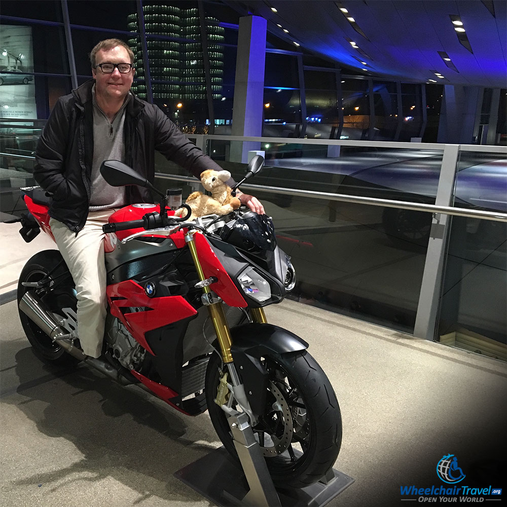 BMW Welt Motorcycle Exhibit Gallery