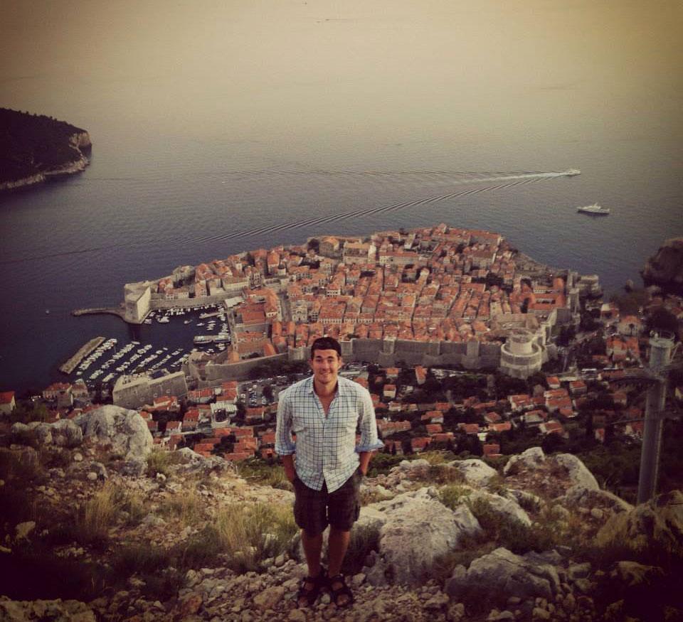 Ed Rex in Dubrovnik, Croatia
