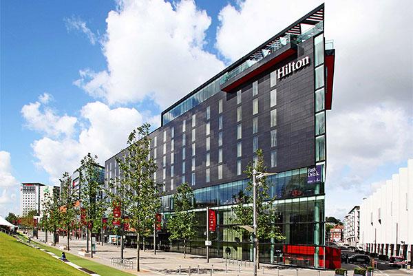 Wheelchair Access at Hilton London Wembley Hotel