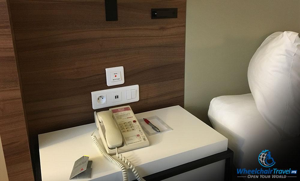 Review Prague Marriott Hotel Wheelchair Access