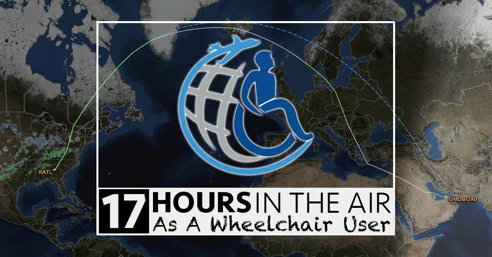 How I Survived A 17 Hour Flight As A Wheelchair User