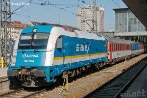 ALEX Train at Munich Central Train Station