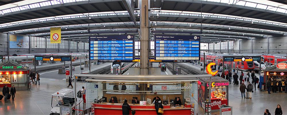 Munich Hauptbahnhof Train Station