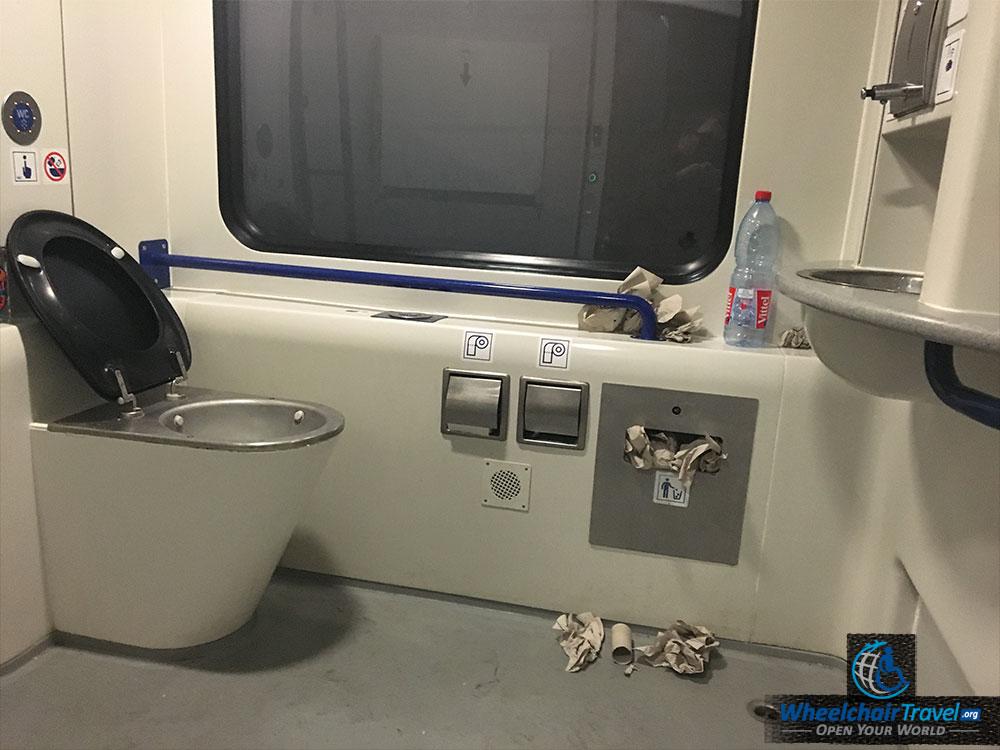 ALEX Train Wheelchair Accessible Bathroom