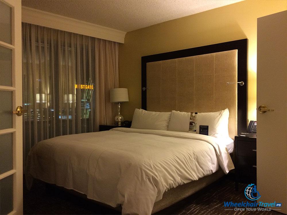 PHOTO DESCRIPTION: King Size bed.