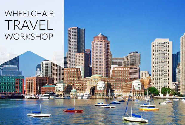 PHOTO: Wheelchair Travel Workshop at 2016 Abilities Expo in Boston.