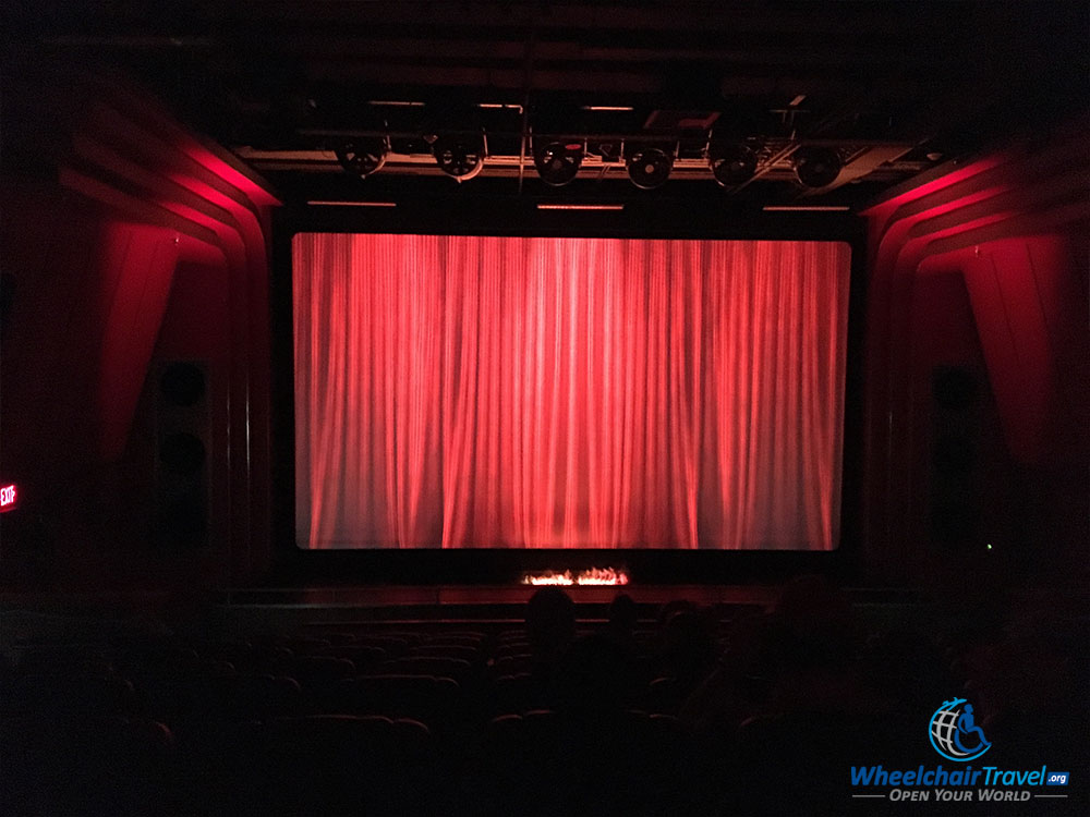 PHOTO: RMS Queen Mary's 4-D Theater.