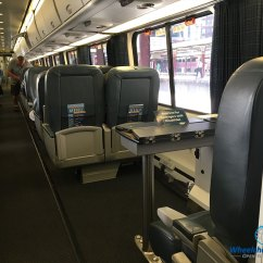 Quantum Wheelchair Xbox Gaming Chair Review: Amtrak Acela Express High-speed Train - Wheelchairtravel.org