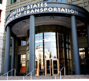 PHOTO: Headquarters of the United States Department of Transportation.