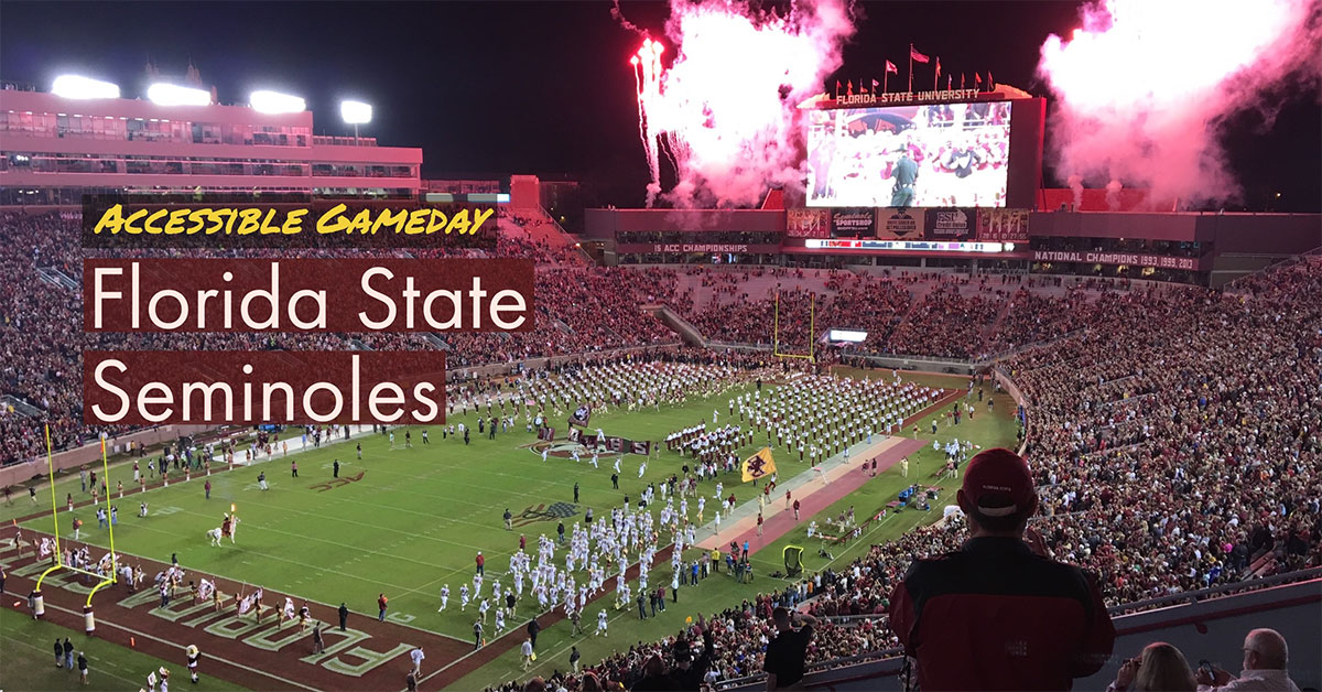 Accessible Gameday: Florida State Seminoles College Football