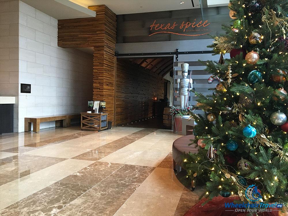 Texas Spice restaurant at Omni Dallas Hotel