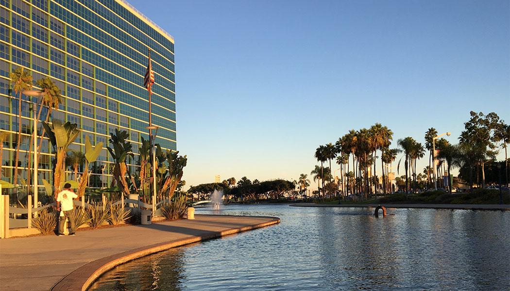 Exterior of Hyatt Regency Long Beach hotel