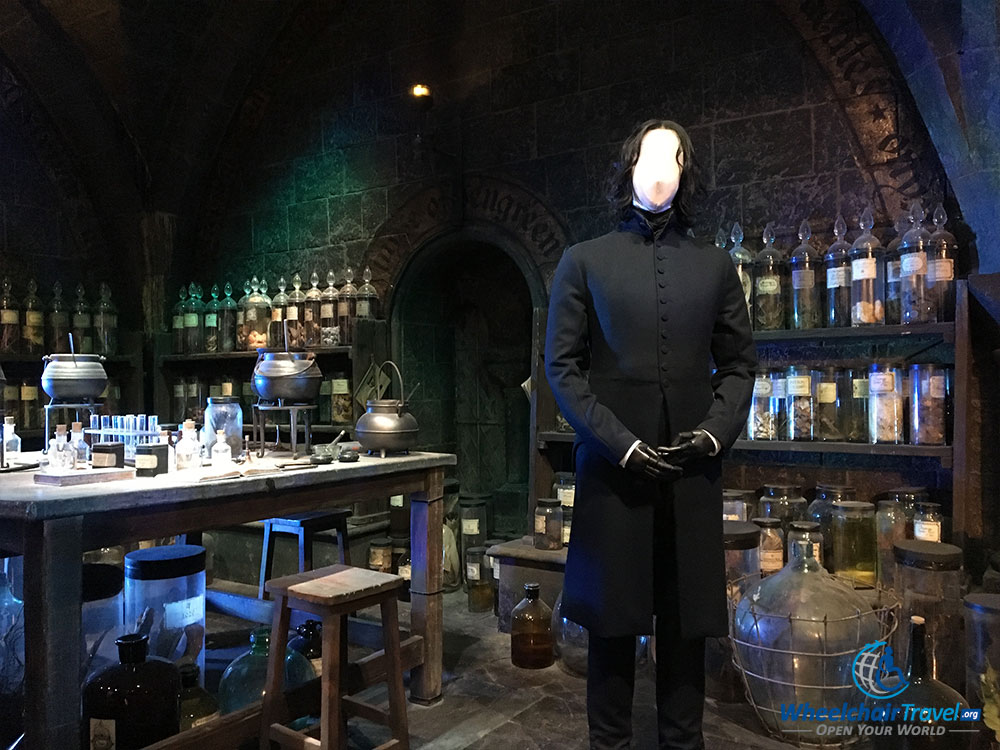 Snape's Potions classroom