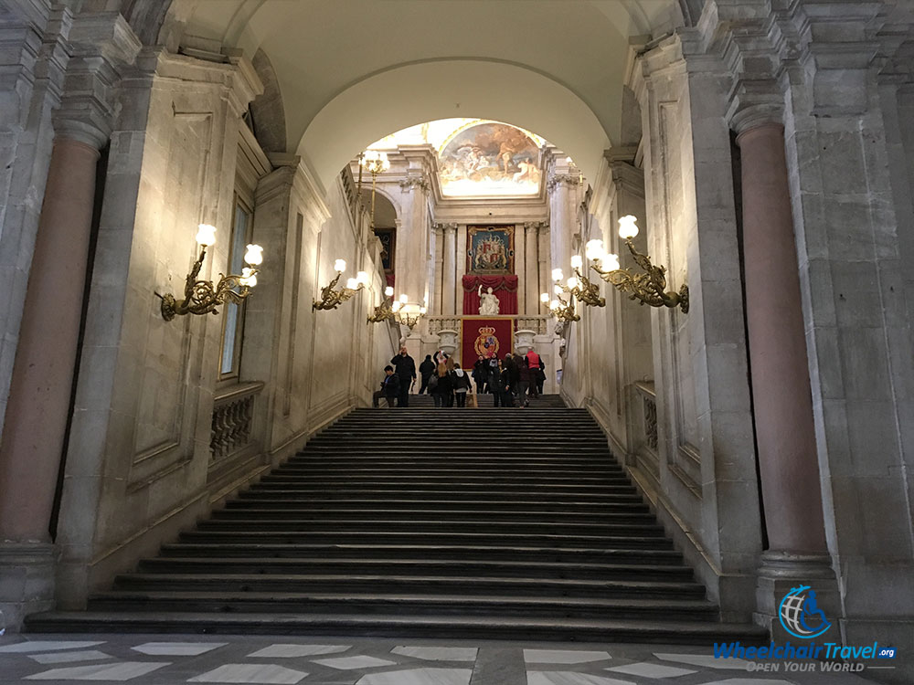 Grand Staircase, seen from ground level