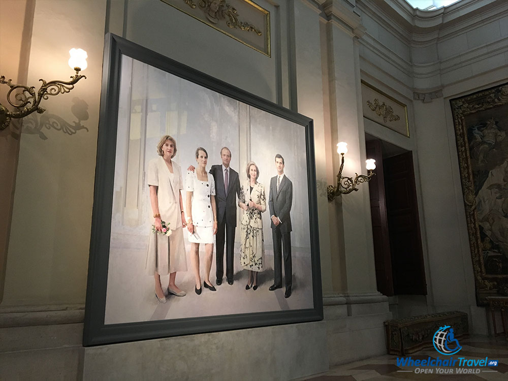 Portrait of the Royal Family of Spain