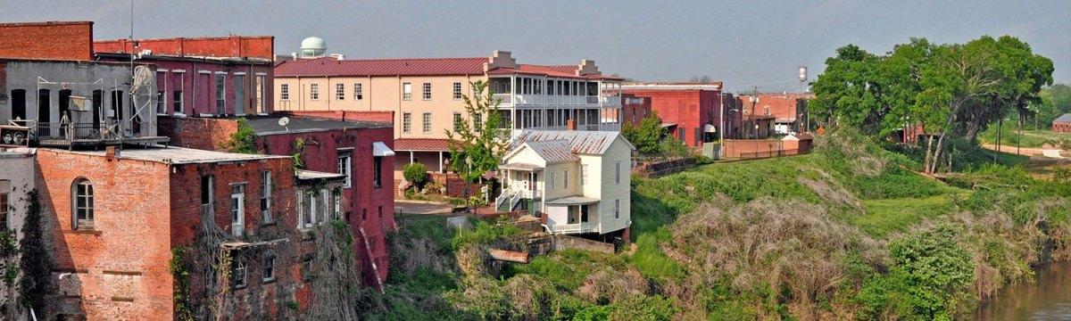 Selma, Alabama riverbank