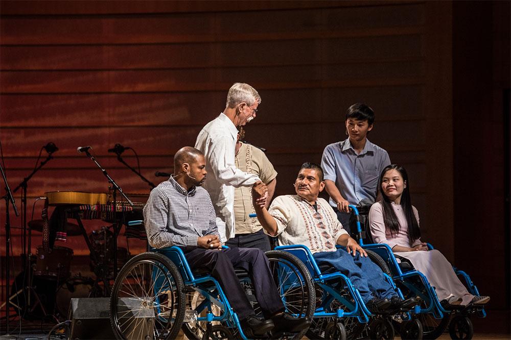 Free Wheelchair Mission Gala
