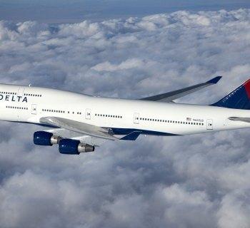 Delta Air Linnes Boeing 747-400