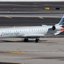 Mesa Airlines CRJ-900 aircraft, registration number N942LR in American Airlines livery.