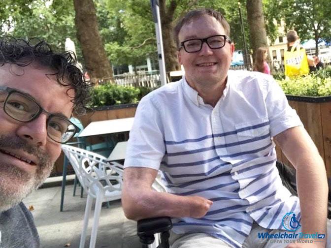London meet-up with TravelZork.