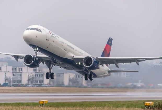 Delta Air Lines aircraft.