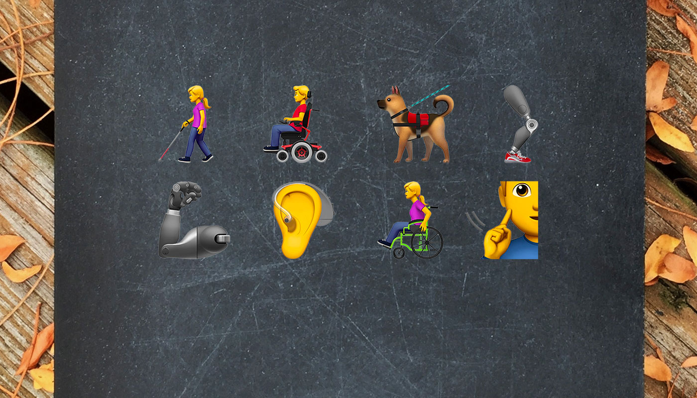 wheelchair emoji chaise chairs for living room archives travel blog new apple with disability themes and figures