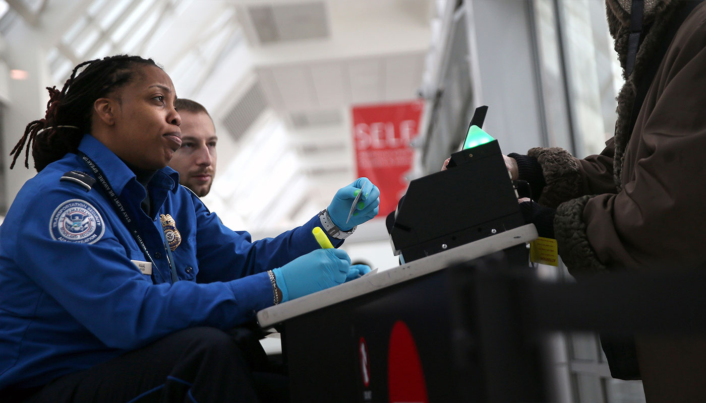 TSA requires travelers to have REAL ID compliant identification at airport security checkpoints.