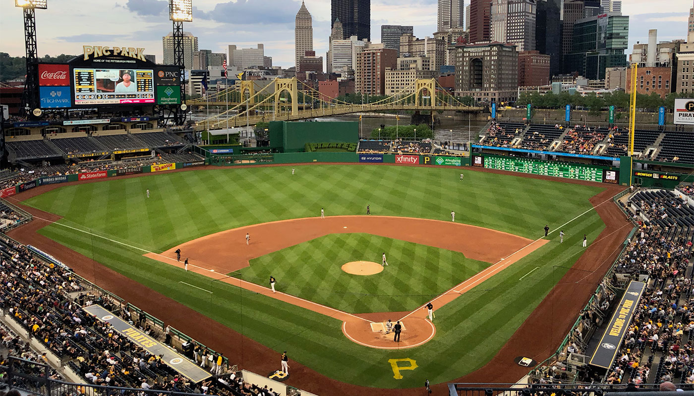 Wheelchair accessible Pittsburgh Pirates game.