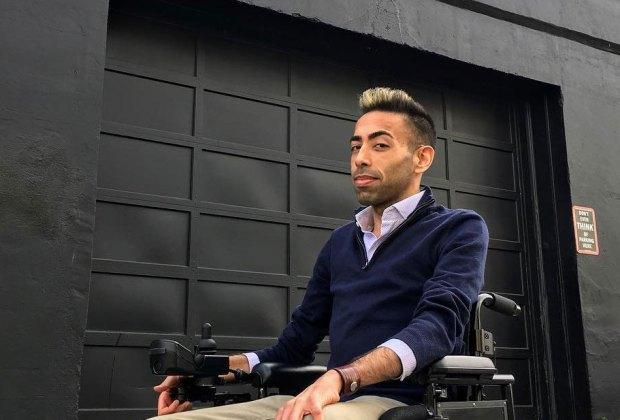 Wheelchair user Amin Lakhani takes a trip.