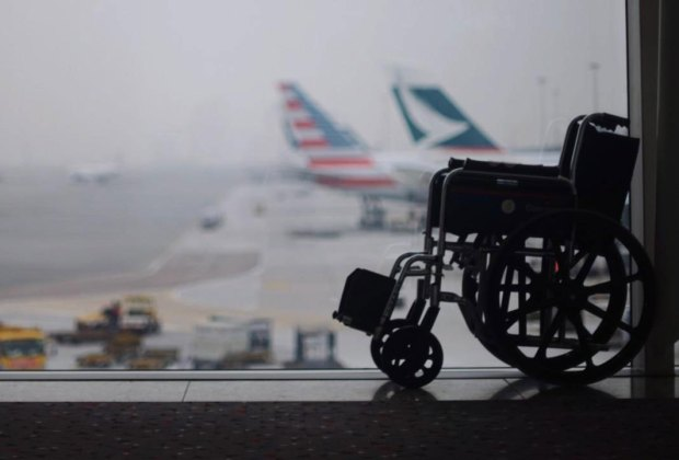 U.S. airlines damaged more than 700 wheelchairs in the month of December 2018.