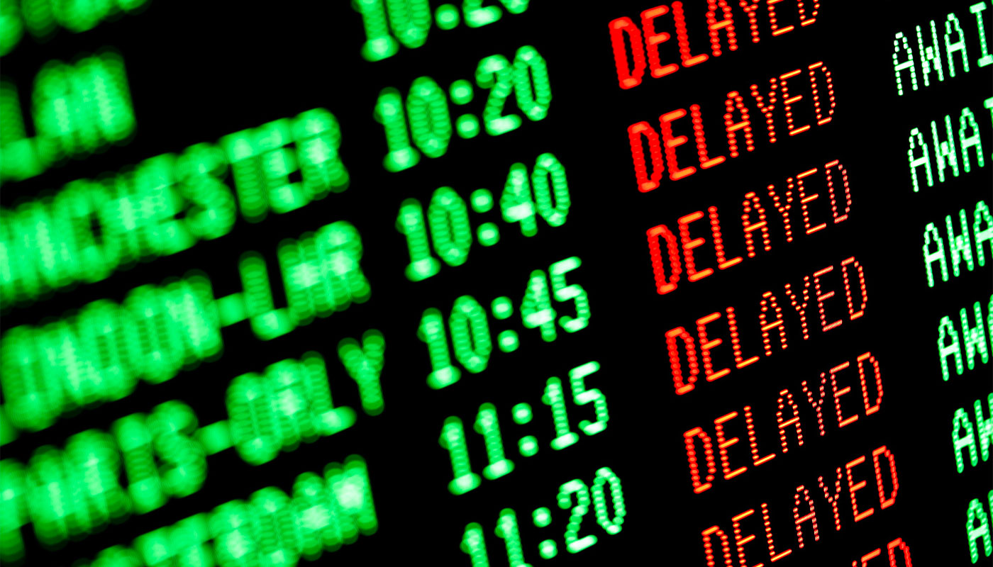 Cash compensation for flight delays