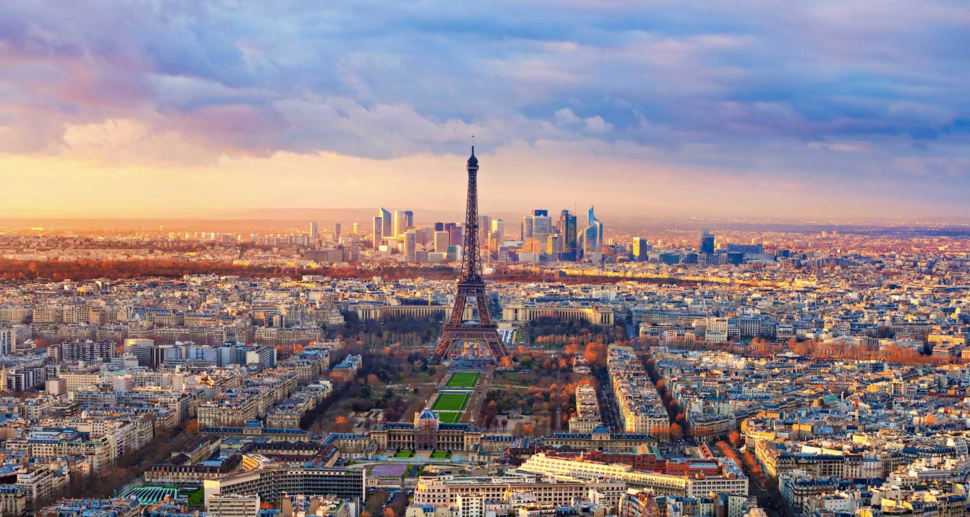 Paris, France skyline.
