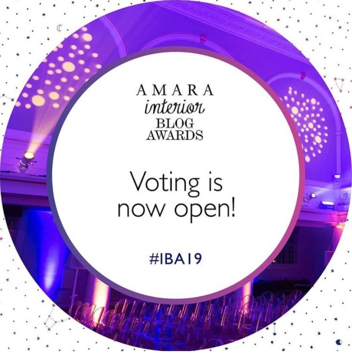 Nominated for Amara IBAs!  I need your votes!