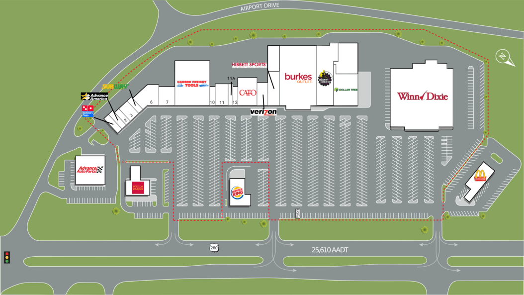 Alexander City Al Alex City Marketplace  Retail Space