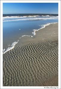So much sand, so much blue....