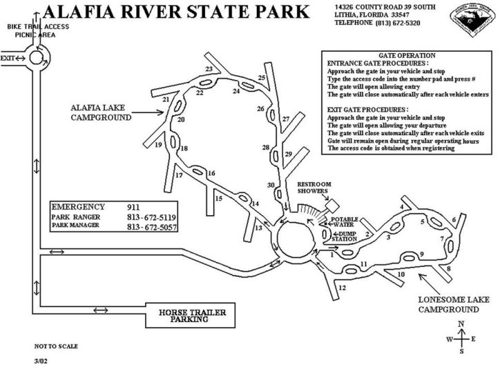 Campground map -> click for larger size