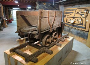 One of the many great displays at the Mining Museum in town