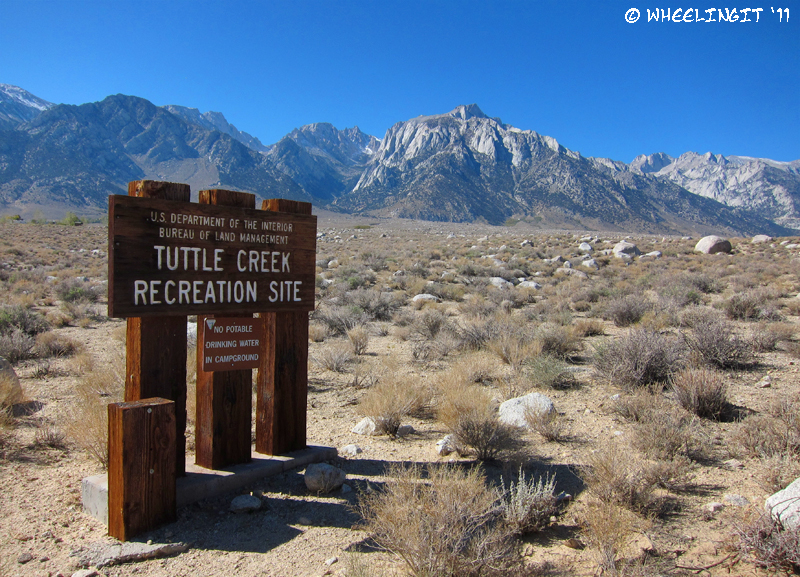 BLM Campground Review - Tuttle Creek, Lone Pine, CA ...