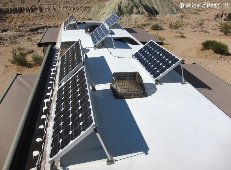 Rv Solar Part Iv Panel Tilting Winter Solar Optimization Wheeling It Tales From A Nomadic Life