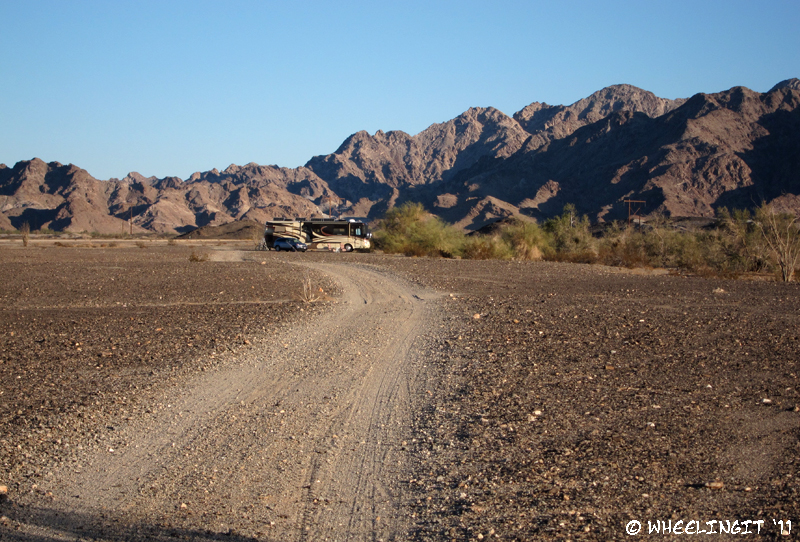 Boondocking Site Review Ogilby Road Imperial County